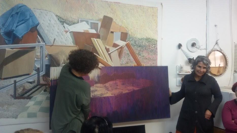 סיור אמנות עם נעה רז מלמד – בקרית המלאכה בתל – אביב  15.12.2015   (20 תמונות)